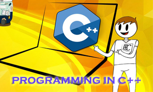 PROGRAMMING COURSE IN C++